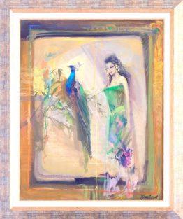 Красив блян - абстрактна картина на художника Божидар Хаджистоянов в Арт Галерия Европа