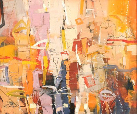 Импресия - абстрактна картина