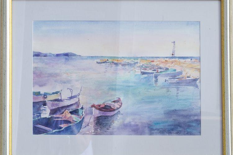 Море - морска картина пейзаж
