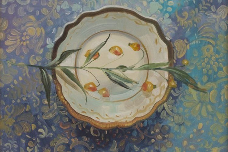 Натюрморт с цвете - картина с цветя