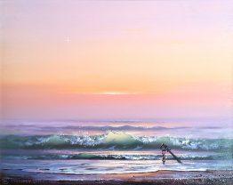 Събуждане- морска картина, пейзаж
