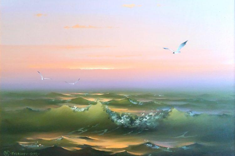 Сияние на вечността - морска картина