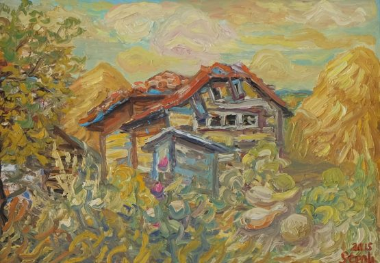 Пчелин - картина пейзаж