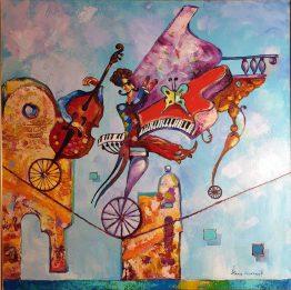Джаз - абстрактна картина
