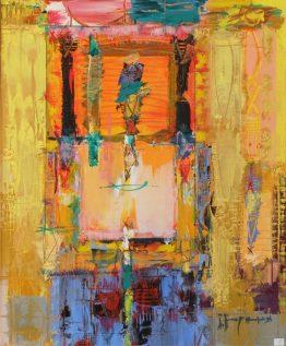 Следобедно мълчание - абстрактна картина